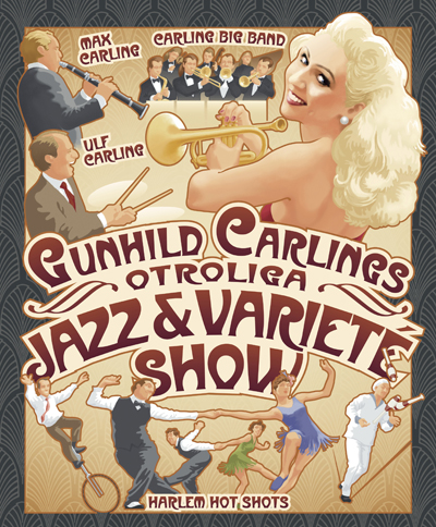 Gungild Carling, Carling Big Band, Harlem Hot Shots Mildreds swingskola Åland Mariehamn 2015